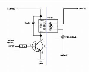 relay simple and safe solution to control a power plug With solid state relay wiring diagram in addition solid state relay circuit
