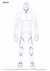 Learn How To Draw Iron Man Suit Iron Man Step By Step
