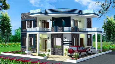 Kitchen Family Room Ideas - spectacular modern residential villas plan everyone will like homes in kerala india