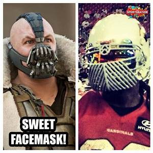 Darnell Dockett's new face mask