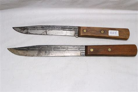 forged kitchen knives 2 frontier forged kitchen knives