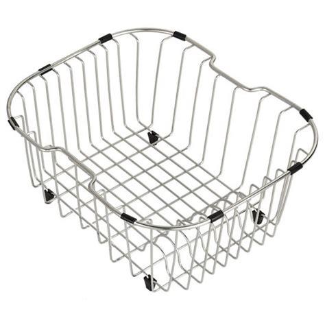 kitchen sink baskets stainless steel kraus stainless steel rinse basket for kitchen sink 8449