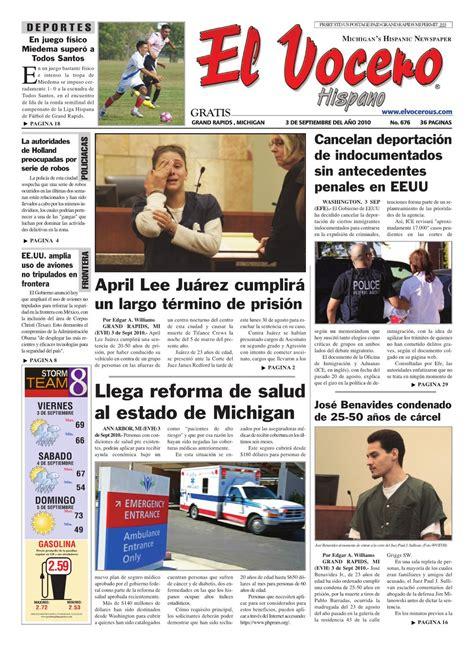 El Vocero Hispano 3 de Septimbre 2010 by Ervin Jose