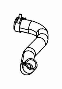 Dodge Charger Radiator Coolant Hose  3 5  U0026 3 6 Liter  3 6 Liter  300  Challenger