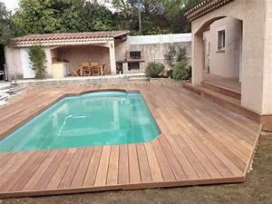 Tour De Piscine Bois : tour de piscine avec extension terrasse en cumaru ~ Premium-room.com Idées de Décoration