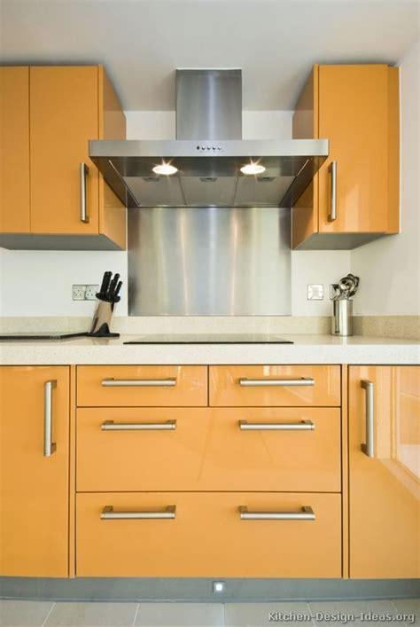 orange kitchen cabinet kitchen idea of the day a gallery of modern orange 1215