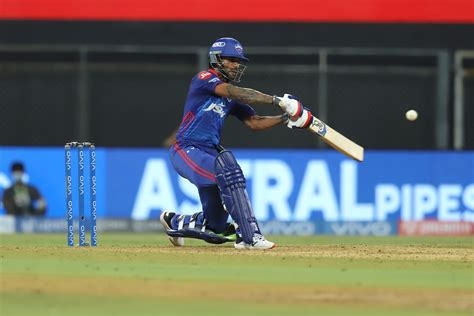IPL 2021 DC vs MI Dhawan completes 200 races, extends ...