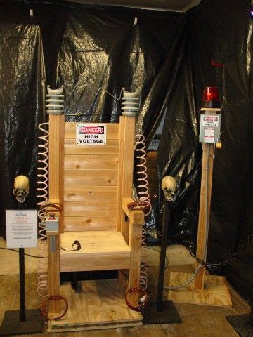 electric chair ideas  pinterest diy halloween