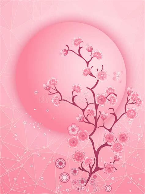 foto de Motivo Da Flor De Cerejeira Vetor Do Molde Da Natureza