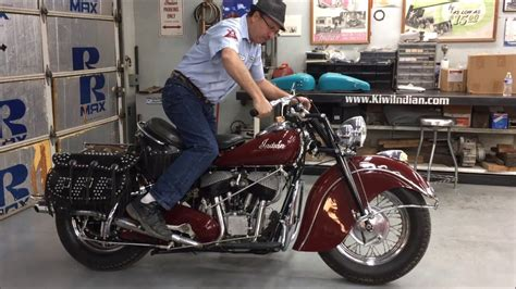 Kiwi Indian Motorcycles How To Start And Ride Your Indian