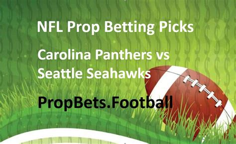 seattle seahawks nfl player prop bet picks news