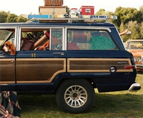 tommy hilfiger customized  jeep grand wagoneer