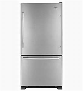 Whirlpool Refrigerator Brand: Whirlpool GB9FHDXWS Bottom ...