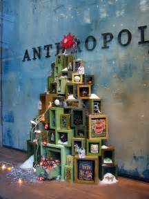 beautiful window displays anthropologie quot tree farms quot holiday windows