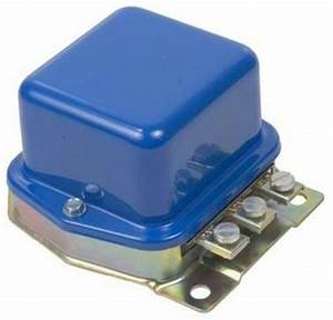 6 Volt Voltage Regulator Ford Tractor