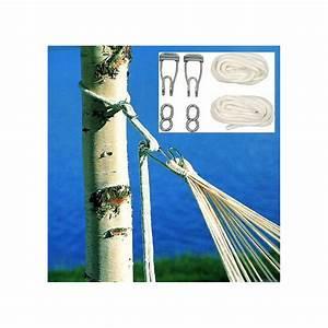 Accrocher Hamac Arbre : fixation hamac ropepro jobek pour arbres ~ Premium-room.com Idées de Décoration