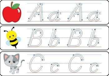 write  wipe alphabet  correct letter formation