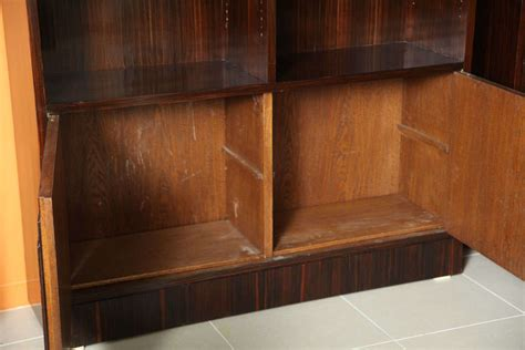kitchen cabinets shelves pair of late deco de macassar bookcase 3235