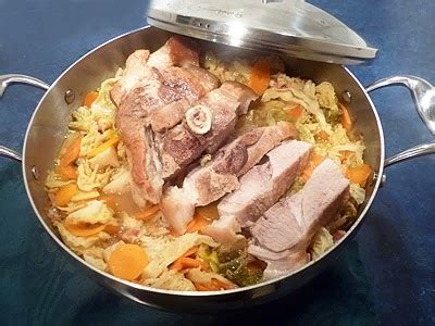 comment cuisiner rouelle de porc rouelle de porc au chou la recette facile par toqués 2