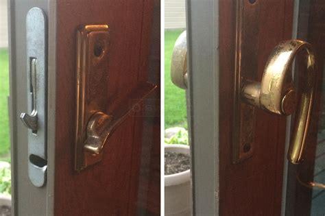 exterior sliding patio door lock swisco