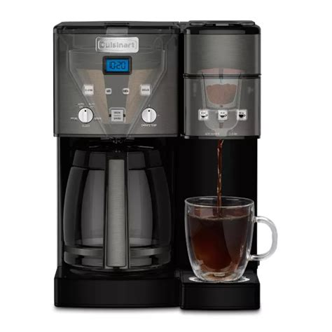 There are numerous features that cuisinart has incorporated into their coffee machines as a standard which resonates with consumers. Cuisinart Combo 12-cup & single-serve coffee maker for $177 + $50 Target gift card - Clark Deals