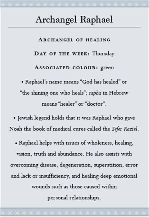 angel healing  archangel raphael watkins