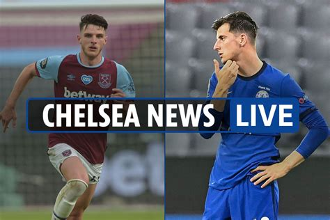 11 pm Chelsea LIVE Play News: Declan Rice, a 50 million ...
