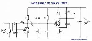 500 Km Fm Transmitter Circuit Diagram