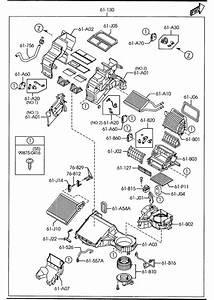 Mazda Cx-9 Resistor  Blower Unit  Evaporator