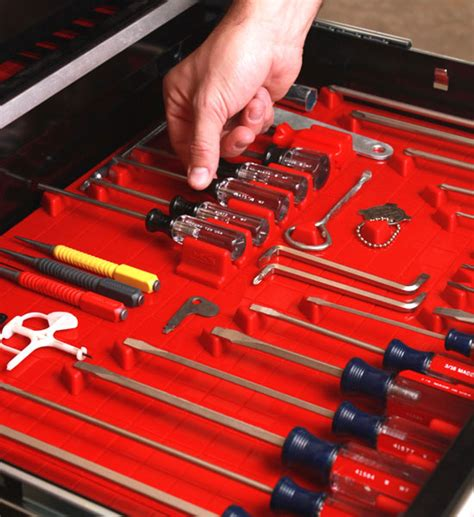 tool drawer organizer tool drawer liner and toolbox organizer system in tool storage