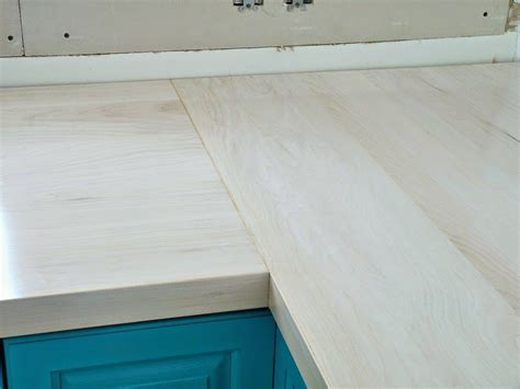 diy wood countertops tutorial   build