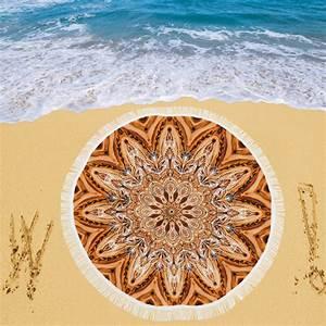 "Custom Circular Beach Shawl 59""x 59"""