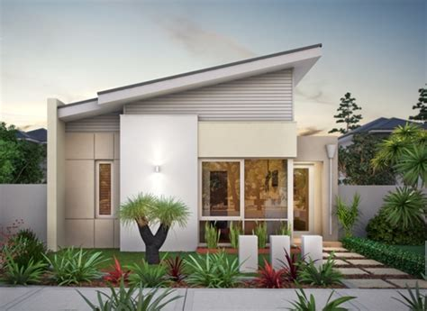 Minimalist House Design Plan For Small Families