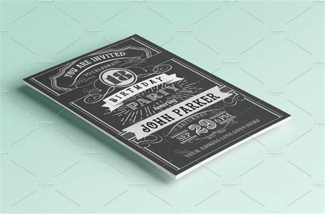 vintage invitation card designs psd ai indesign