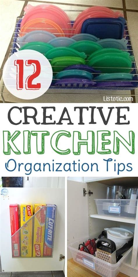 12 Easy Kitchen Organization Tips (with Pictures) New