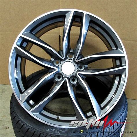 20 quot avant c7 style wheels gunmetal machined fits audi a4