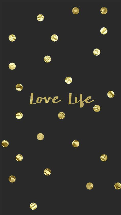 Gold Lock Screen Wallpaper For Phone by Wallpaper Background Hd Iphone Gold Confetti Black