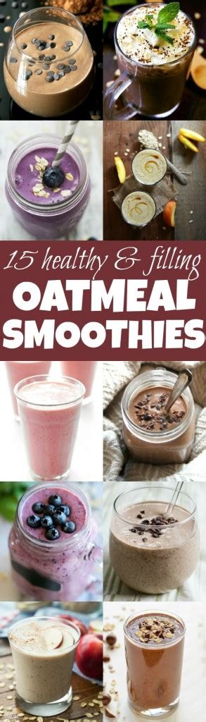 healthy smoothies   oats running  spoons
