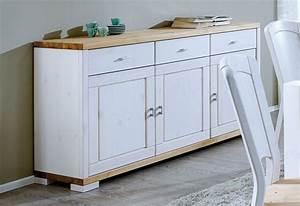 Holz Beizen Weiß : kommode 160x89x43cm 3 holzt ren 3 schubladen kiefer massiv wei lasiert ~ Frokenaadalensverden.com Haus und Dekorationen