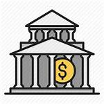 Treasury Institution Financial Finance Icon Bank Investment