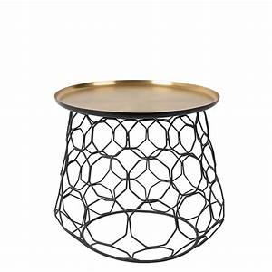 Table D Appoint Metal : table d 39 appoint m tal finitions dor e moulin ~ Teatrodelosmanantiales.com Idées de Décoration