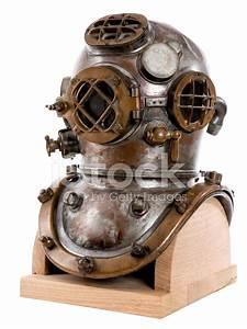 Antique Scuba Helmet stock photos - FreeImages.com
