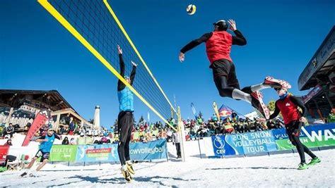 Klāt pirmais LČ sniega volejbolā, uzvarētāji kvalificēsies ...