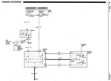 Power Antenna Wiring Third Generation Body Message Boards