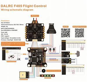 Dalrc F405 Fc Dalrc Engine 4in1 Esc Stack  Limited Bundle