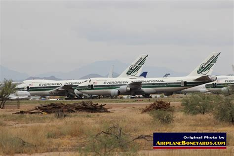 Pinal Airpark Airport, an airliner storage, maintenance ...