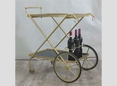 Vintage metal serving trolley 1950 1955No Cam 258