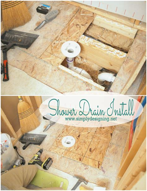 How to Install Shower Drain