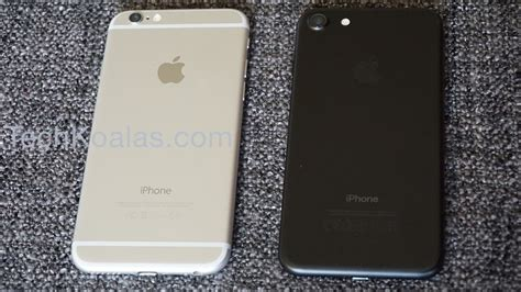 iphone 6 or 7 iphone 7 vs iphone 6 7 notable differences techkoalas