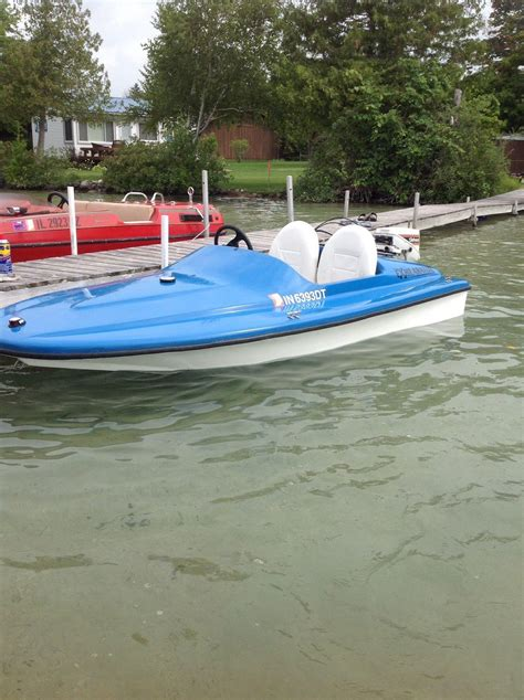 Speed Boat Average Speed by Exhilarator 101b Mini Speed Boat 2011 For Sale For 3 000